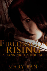 Book cover for Firedragon Rising by Mary Fan