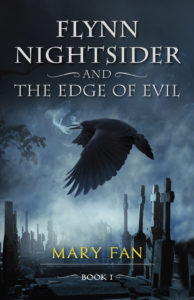 book cover for Flynn Nightsider by Mary Fan