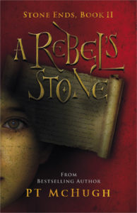 A Rebels's Stone book art PT McHugh