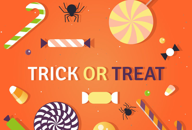 free Halloween clip art from vecteezy.com